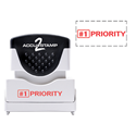 Picture of Accu Stamp® 2 One Color Stock Stamps #1 Priority