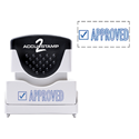 Picture of Accu Stamp® 2 One Color Stock Stamps Approved