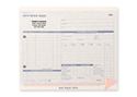 """Picture of Auto Repair Order Form, 8-1/2"""" x 7"""", 3-part"""