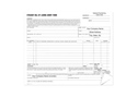 """Picture of Bill of Lading Short Form, 8-1/2"""" x 7"""", 3-part"""