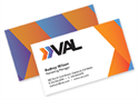 Picture of Full Color Flat Standard Business Card - Front & Back