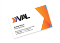 Picture of Full Color Flat Standard Business Card - Front only