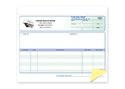 "Picture of Purchase Order Form Ruled, 8-1/2"" x 7"", 2-part"