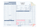 """Picture of Repair Order Form, 11"""" x 8-1/2"""", 3-part"""