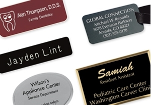 Picture for category Engraved Name Badges