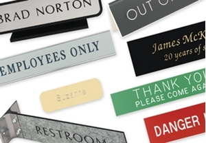 Picture for category Engraved Signs