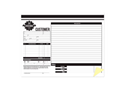 """Picture of Create Your Own Form, 11"""" x 8-1/2""""Horizontal, 2-part, Snap Set"""